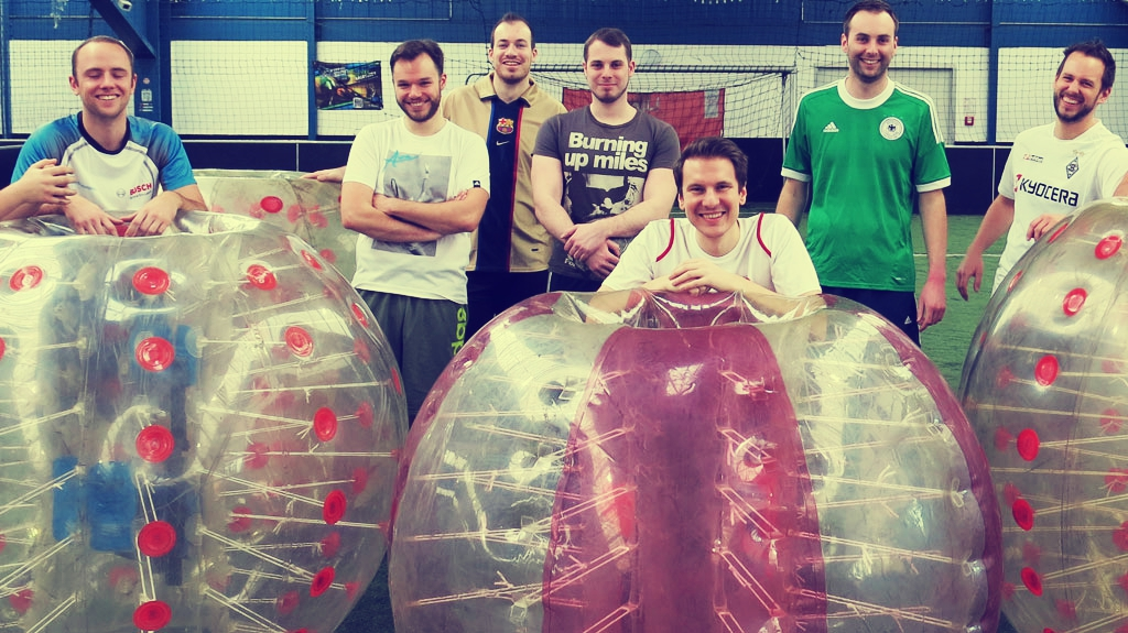 bubble soccer gelsenkirchen