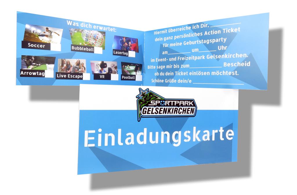 Einladungskarte-Event-Freizeitpark-Gelsenkirchen