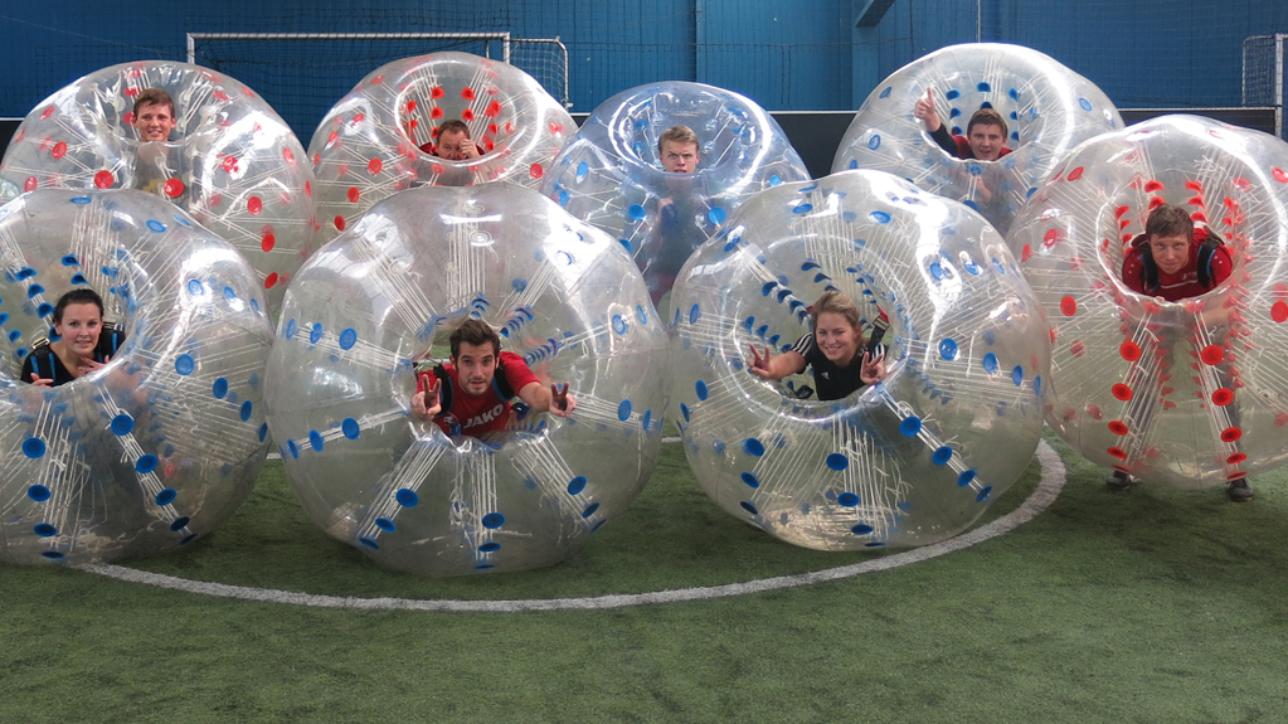 bubble soccer gelsenkirchen