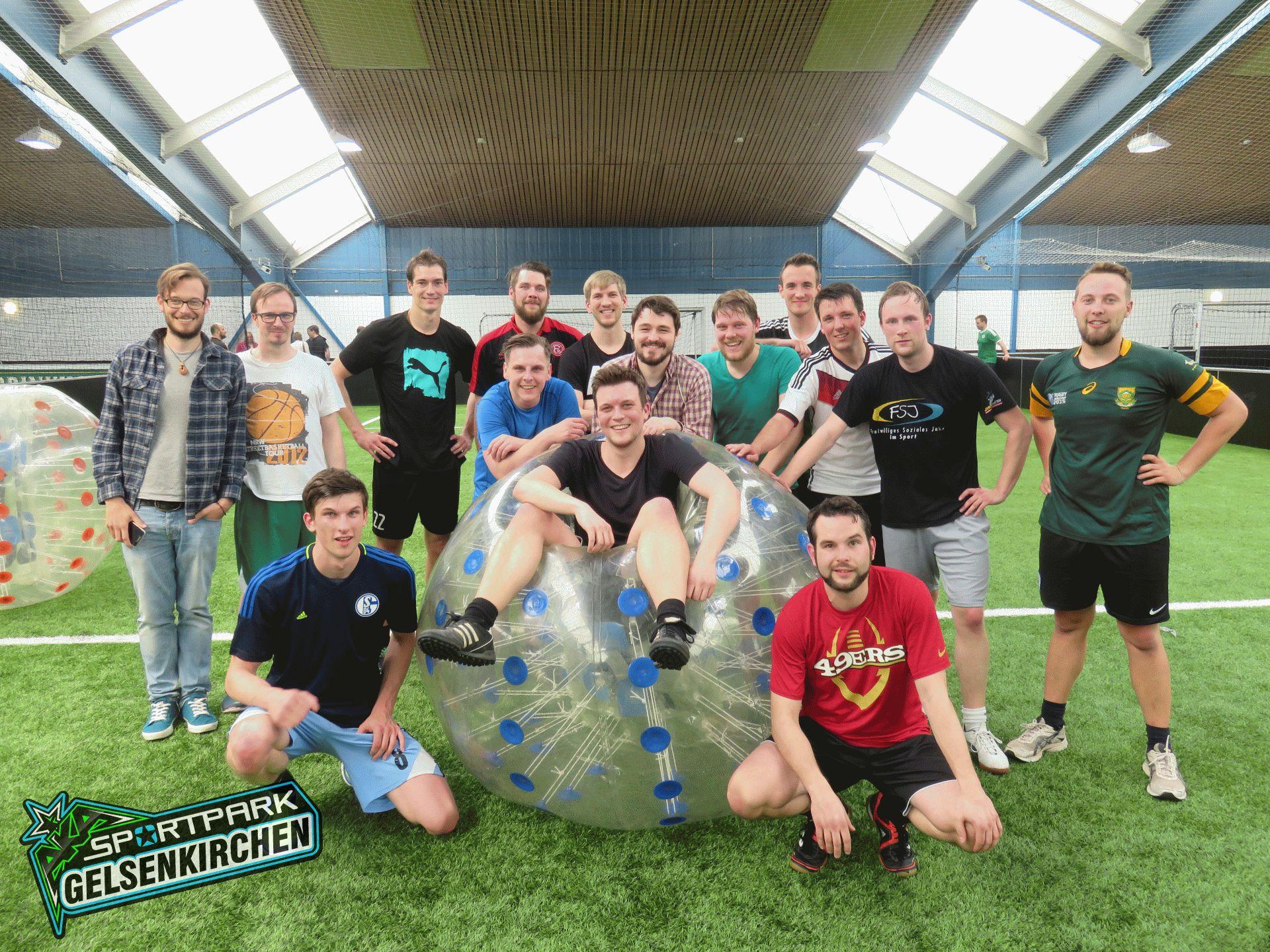 Bubbleball-Junggesellenabschied-JGA-Ruhrgebiet-Sportpark-2