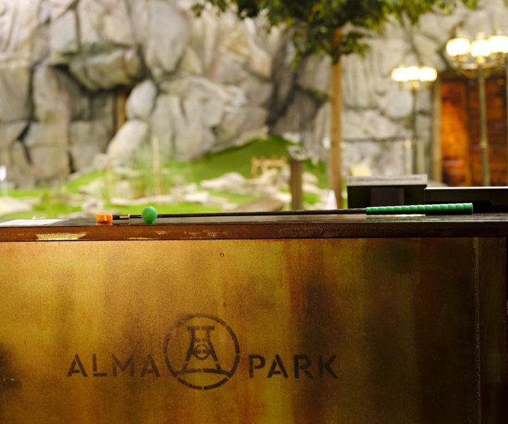 Alma Park in neuem Glanz